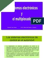 Sistemas Electronicos y Multiplexado CAN Bus