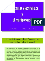 Sistemas Electronicos y Multiplexado CAN Bus