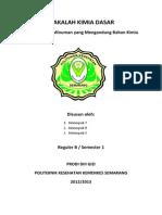 makalah kimia dasar