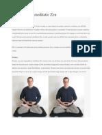 Scurt Ghid de Meditatie Zen