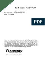 FAGIX Fidelity Income
