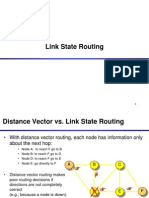Example of Link Stafdsfdsfte Routing Algorithm