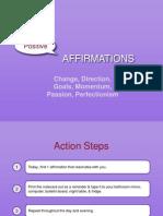 Positive Affirmations Notecards Vol 1