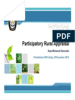 Participatory Rural Appraisal PRA