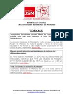 Boletín Informativo de Juventudes Socialistas de Móstoles (IV)