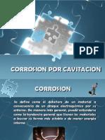 Corrosion Por Cavitacion