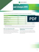 Tariffs Payment Services Changes 2015