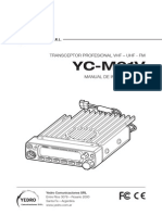 Yedro Ycm01v Manual