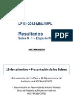 presentación de DCF