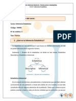 Presentacion Curso 100403 Inferencia Estadistica