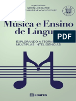 Livro Edufes Música e Ensino de Línguas Explorando a Teoria Das Múltiplas Inteligências