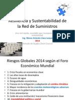 Resiliencia y Sustentabilidad de La Red de Suministros