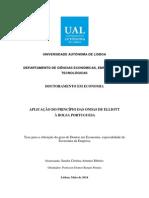 Aplicação Do Principio Das Ondas de Elliott à Bolsa Portuguesa