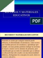 RECURSOS Y MATERIALES EDUCATIVOS.ppt