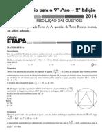 Desafio Etapa- 2, 2014