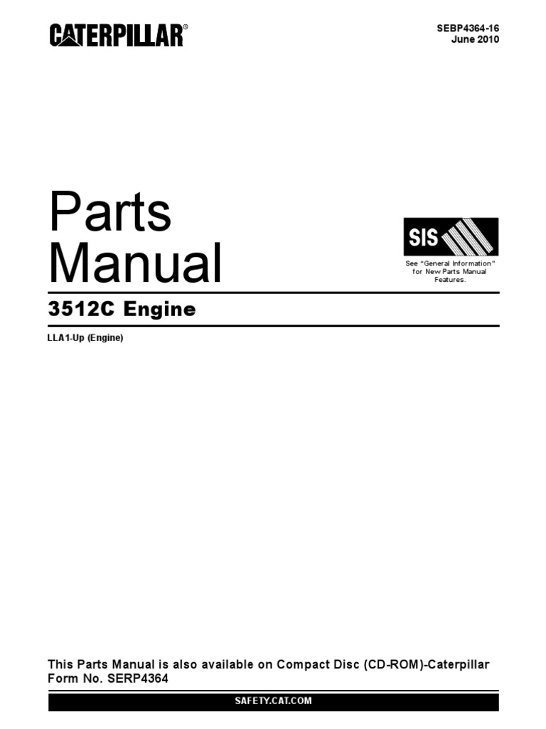 cat 3512c parts pdf rh scribd com Cat 3304 Engine Specifications Cat 3512 Generator
