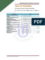 Variables Manuel Abanto Corcuera