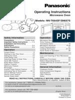 Panasonic Microwave NNSN657S