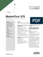 Basf Masterflow 678 Tds