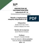 Proyectos de Automatización 15-Comisionamiento