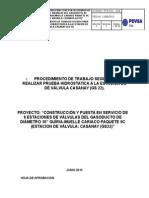 024-Pts Prueba Hidrostatica