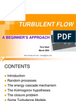 T.saad - Introduction to Turbulent Flow (March2004)