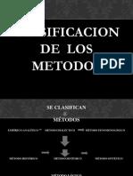 Clasificación de Los Métodos Juridicos