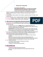 Peds Study Guide