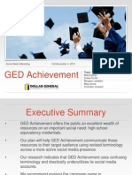 GED Achievement