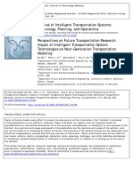 Perspectives on Future Transportation Research_Impact of Intelligent Transportation System Technologies on Next Generation Transportation Modeling