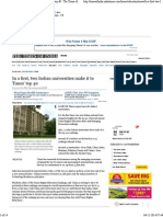In a first, two Indian universities make it to Times' top 40 - The Times of India.pdf