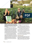 Double Food Production with Organic Gardening Technology