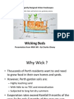 Garden Wicking Beds = Water Wise Gardening
