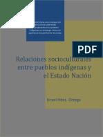 Relaciones socioculturales entre pueblos indígenas y el Estado Nación
