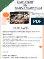 Annapurna dabbawala case
