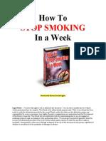 Prestati pušiti