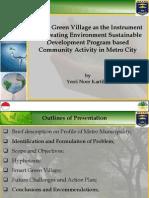 Draft - Presentation Kitakyushu - Climate Village