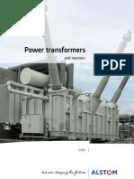 Power Transformers and Reactors Brochure-En