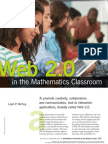 Web 2.0 in the Mathematics Classroom