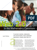Web 2.0 in the Mathematics Classroom