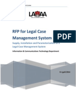 Legal Case Management System