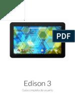 Manual Edison 3 ES