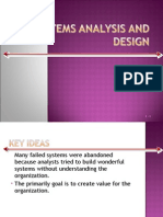 System Analysis and Design-Management Information System