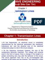 Chapter 1 Transmission Line