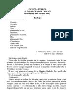 Octavia Butler - La Parabola Dei Talenti.doc
