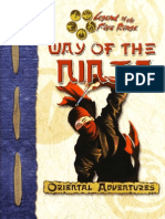 l5r - The Way of the Ninja