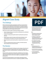 Alignent Motorola Case Study