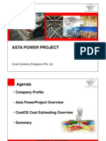 Asta Powerproject Presentation Slides
