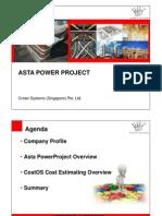 Asta Powerproject Presentation Slides