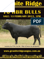 Granite Ridge 2015 Angus Sale Catalogue